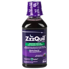 ZzzQuil Liquid Nighttime Sleep Aid - Berry - 354ml | 056100076896