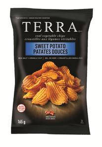 Terra Chips Sweet Potato Sea Salt Krinkle Cut Chips 165g   728229139911