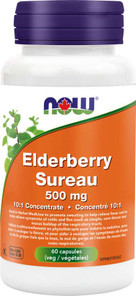 Now Foods Elderberry 10:1 Fruit Concentrate 500mg 60 Vcaps | 733739846679