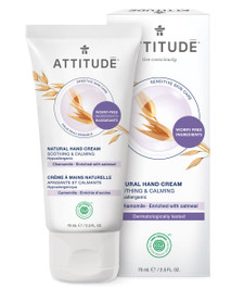Attitude Sensitive Skin Care Natural Hand Cream Soothing and Calming - Chamomile 75 ml   626232608243