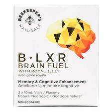 Beekeeper's Naturals B. LXR Brain Fuel 3 x 10ml Vails   628055142232