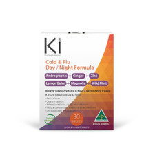 Martin and Pleasance Ki Cold & Flu Day/Night Formula  30 tablets | 9321582002987