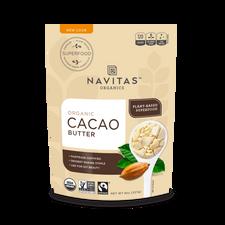 Navitas Organics Organic Cacao Butter 227 grams   811961022372