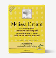 New Nordic Melissa Dream 60 Coated Tablets | 741805745320