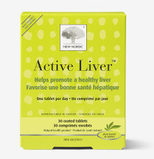 New Nordic Active Liver 30 Coated Tablets | 741805919554