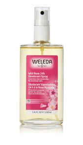 Weleda 24H Deodorant Spray 100 ml Wild Rose | 4001638097079