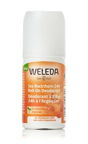 Weleda 24h Roll-On Deodorant - No Aluminium Salts 50ml -Sea buckthorn | 4001638502399