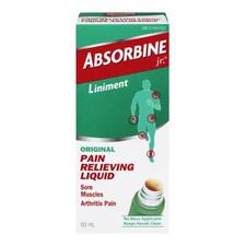 Absorbine Jr. Original Pain Relieving Liquid 60 mL   889476646819