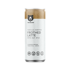 Two Bears Vanilla Coffee Frothed Latte with Oat Milk 6 Pack x 250mL | 628504309049