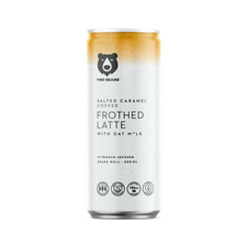 Two Bears Salted Caramel Coffee Frothed Latte with Oat Milk 6 Pack x 250mL | 628504309094