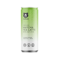 Two Bears Frothed Matcha Tea Latte with Oat Milk - 6 Pack x 250mL | 628504309100