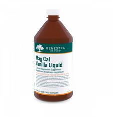 Genestra Mag Cal Vanilla Liquid 450 ml | 883196130818