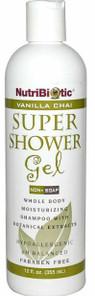 NutriBiotic Vanilla Chai Super Shower Gel 355 ml  | 728177010416