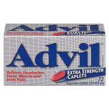 Advil Extra Strength 72 Caplets | 062107004640