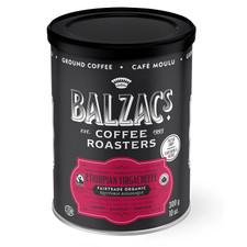 Balzac's Coffee Roasters Fine Ground Coffee Amber Roast Espresso Fairtrade Organic Velvety Smooth 300g   628614000300