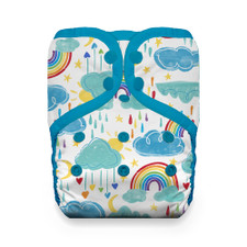 Thirsties Natural One Size Snap Pocket Diaper - Rainbow | 840015703035