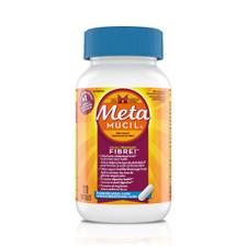 Metamucil Multihealth 4 in 1 Psyllium Fibre Capsules + Calcium 120 Capsules   056100005773