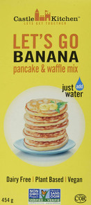 Castle Kitchen Pancake and Waffle Mix Let's Go Banana 454 Grams | 627843459132