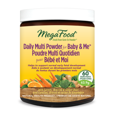 MegaFood Daily Multi Powder for Baby and Me 151.2 g | 051494902080