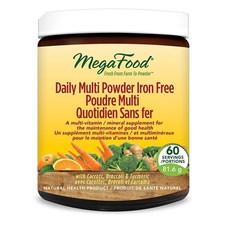 MegaFood Daily Multi Powder Iron Free 81.6 g | 051494902097