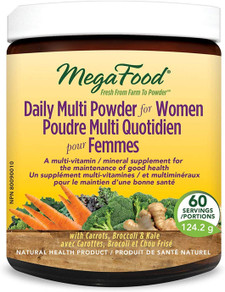 MegaFood Daily Multi Powder for Women 124.2 g | 051494902103