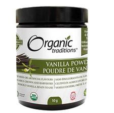 Organic Traditions Vanilla Powder 50g | 627733004770