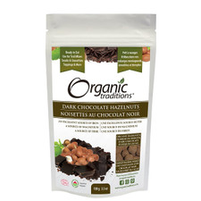 Organic Traditions Dark Chocolate Hazelnuts 100g | 627733014007