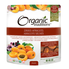 Organic Traditions Dried Apricots 227g   627733007108