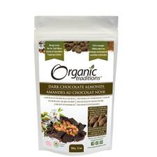 Organic Traditions Dark Chocolate Covered Almonds 100g |