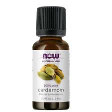 Now Essential Oils 100% Pure Cardamom Oil 10 mL   733739076441