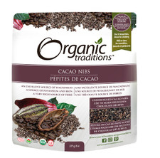 Organic Traditions Cacao Nibs 227g | 627733002103