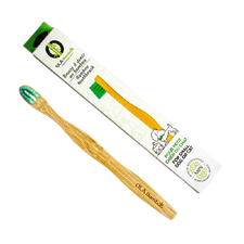 OLA Bamboo Pet Toothbrush - For Small Dogs/Cats   628110814395