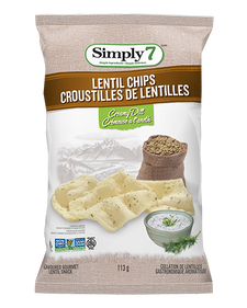 Simply 7 Lentil Chips Creamy Dill | 764218608808
