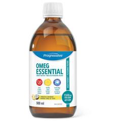 Progressive OmegEssential Liquid Fish Oil - Pineapple Coconut 500 mL | 837229009589