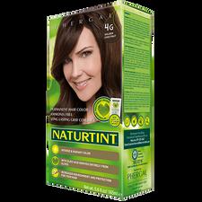 Naturtint Permanent Hair Color Ammonia Free 4G Golden Chestnut 170ml | Box side