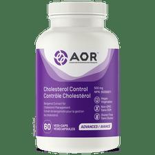 AOR Cholesterol Control 500mg 60 Vegi-Caps   624917043792