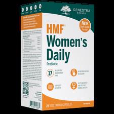 Genestra HMF Women's Daily Probiotic (Shelf stable) 25 Vegetarian Capsules   883196156030