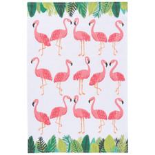 Now Designs Flamingos Dishtowel   064180252994