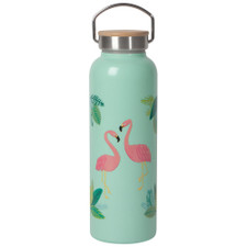 Now Designs Flamingos Roam Water Bottle 18oz   064180285213