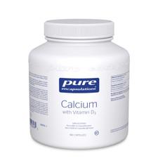 Pure Encapsulations Calcium with Vitamin D3 180 Vegetarian Capsules   766298023465