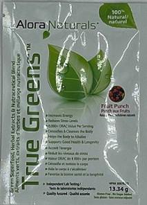 Sample Alora Naturals True Greens Assorted Flavours 13.34g