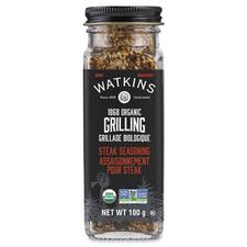 Watkins 1868 Organic Grilling Steak Seasoning 100g   813724026603