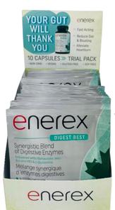 Enerex Digest Best 10 Capsules Trial Pack