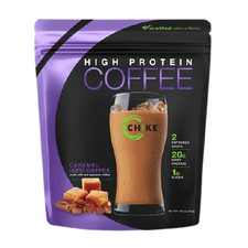 Chike Nutrition High Protein Ice Coffee Bag - Caramel Iced Coffee 420g | 185689000227