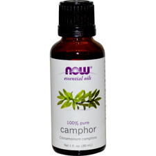 Now Essential Oils Camphor Oil | UPC: 733739875204