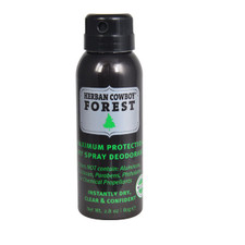 Herban Cowboy Forest Maximum Protection Dry Spray Deodorant and Body Spray
