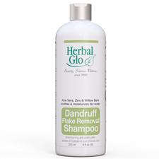 Herbal Glo Dandruff Flake Removal Shampoo   063151250212   063151700120