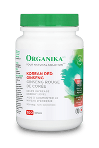 Organika Korean Red Ginseng 500mg | 620365015206