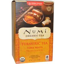 Numi Tea Canada Organic Three Roots Turmeric Tea  