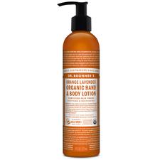 Dr. Bronner's Organic Hand & Body Lotion Orange Lavender 237ml | 018787930014